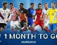 O lună până la startul EURO 2016