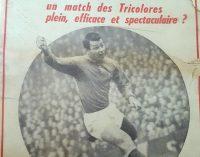 EXCLUSIVITATE: France Football din 1967 îl elogia pe un tânăr anonim Nicolas Dobrin!