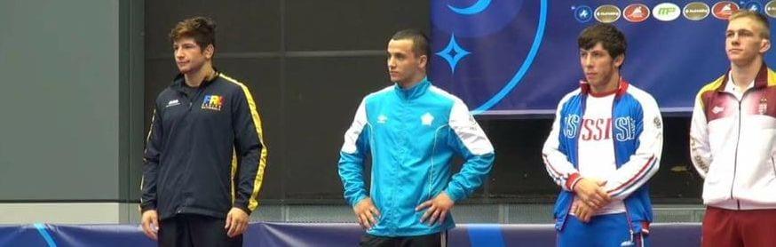 Musceleanul Vlad Mariea, vicecampion mondial de juniori!