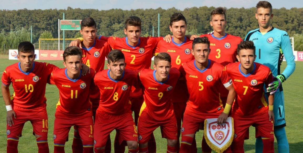 Ivan, Chiriac și Duminică, în lotul României under 17