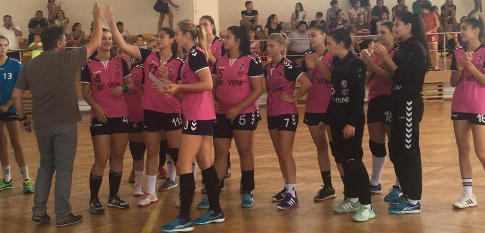 CS Dacia Mioveni, locul 3 la turneul desfășurat la Vâlcea