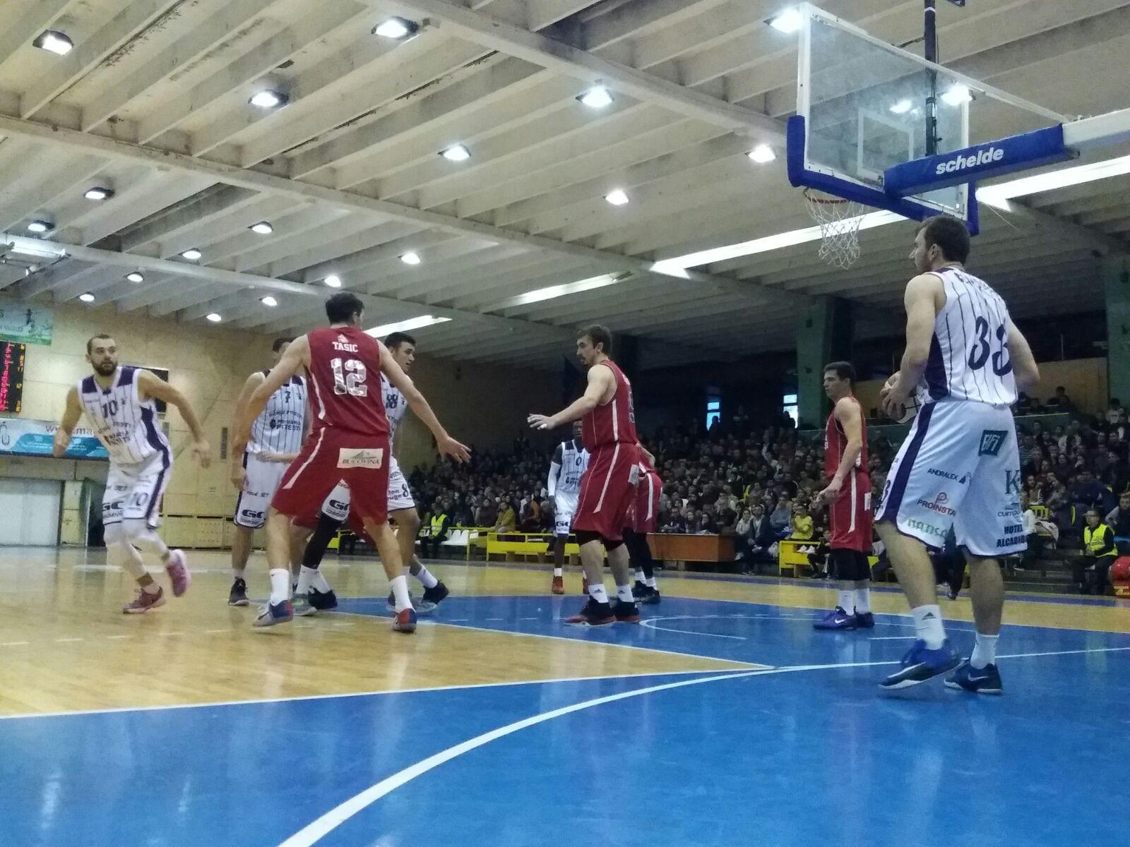 BCM U Pitești, a doua victorie acasă: 81-71 cu Dinamo