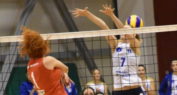 SCM Pitești – Universitatea Cluj, în prima rundă din divizia A1 la volei feminin