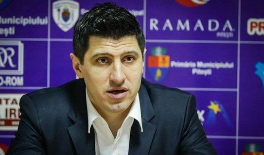 BCMU FC Argeș se desparte de antrenorul Hristu Șapera