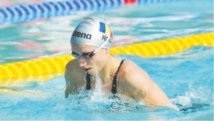 """Aur și record național pentru Florina Ilie la """"naționalele"""" de înot"""