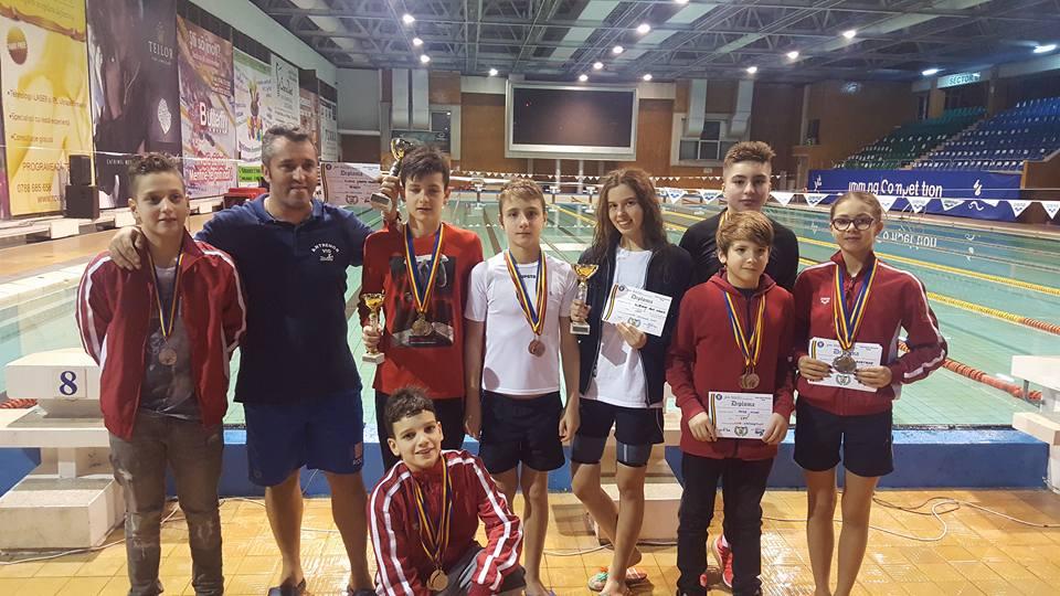 CSM Pitești a câștigat Cupa 1 Decembrie la înot