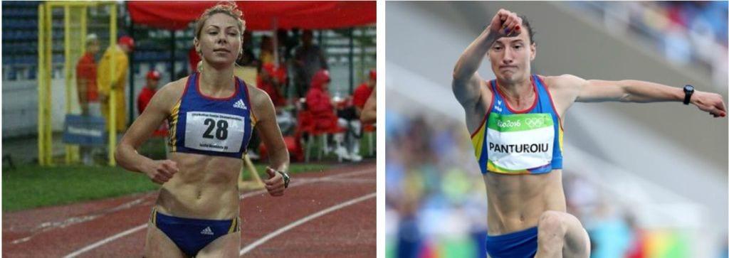 Atletele Ana Maria Ioniță și Elena Panțuroiu, pe podium în ancheta FRA