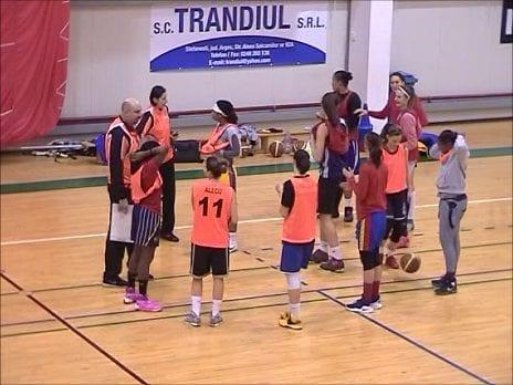 CSM Târgoviște se pregătește în Sala de Sport a Universității Pitești