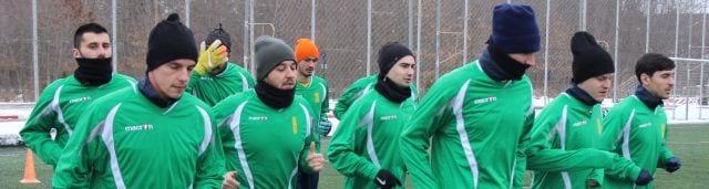 Galben-verzii și-au reluat antrenamentele