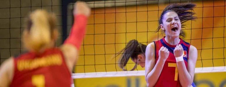 Al doilea succes pentru Romania la europeanul de volei U18