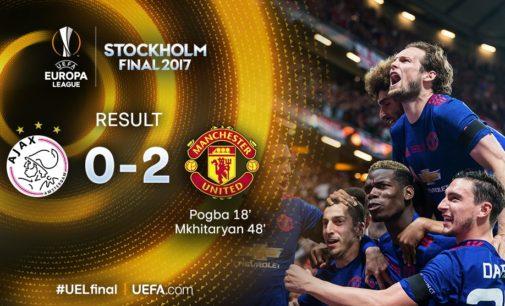 """FINALA EUROPA LEAGUE: Trofeu """"Special"""" pentru United"""