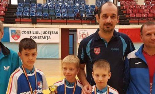 Sebastian Pribeagu, campion naţional cu CS Politehnica Cluj