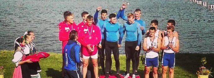 Ionuț Peleu, locul 1 la canoe 4 în cadrul regatei internaționale Piešťany