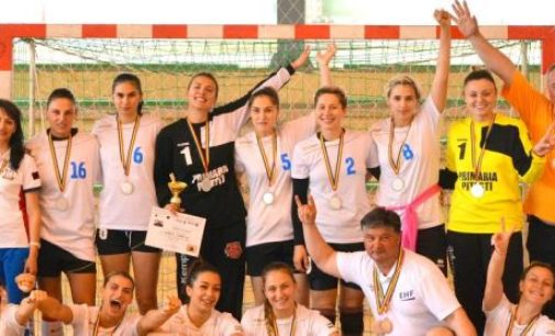 Studentele din Pitești, vicecampioane naționale universitare la handbal feminin