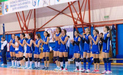 Turneu semifinal pentru echipa de volei CS Dacia Mioveni