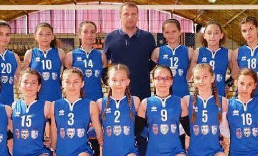 Speranțele Mioveniului, locul 5 pe țară la volei feminin