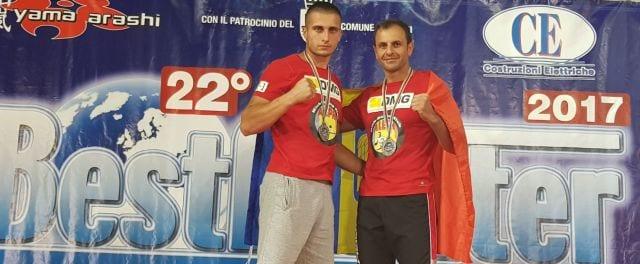 Marius Cocean și Cătălin Graure, 2 bronzuri la BestFighter Wako World Cup 2017 Rimini Italy