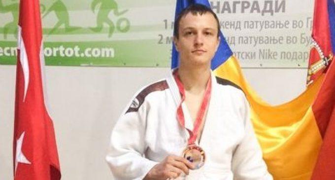 Vadim Bunescu(CSU Pitești), bronz la campionatul balcanic de judo