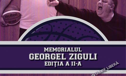 Două zile de baschet de calitate, la Memorialul Georgel Ziguli
