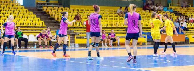 Meci de handbal la Pitești, în runda a treia din divizia A