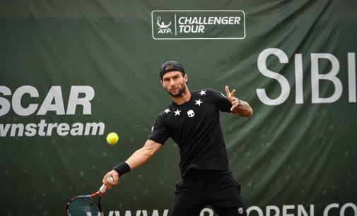 Adrian Ungur a fost eliminat de la Sibiu Open