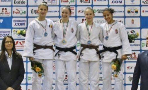Florentina Ivănescu, argint la Cupa Europeană de judo