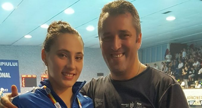 Andra Mitu, bronz pentru CS Dacia Mioveni la naționalul de natație
