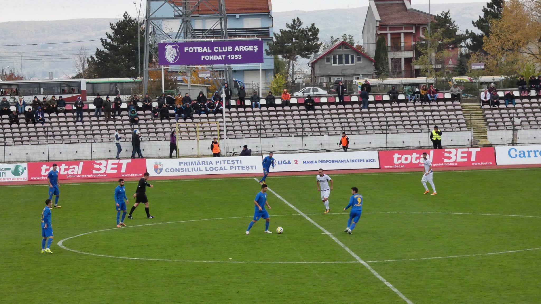 Etapa 16: FC Argeș ia o gură de oxigen, Mioveniul nu se regăsește