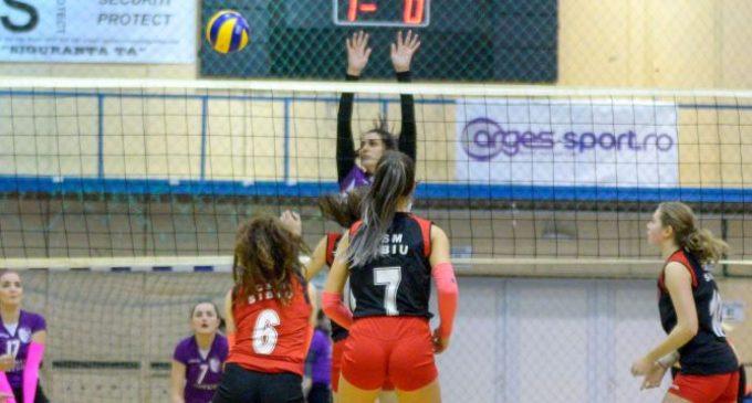 FC Argeș – CSU Oradea, derby-ul rundei a 12-a din divizia A2 Vest la volei feminin