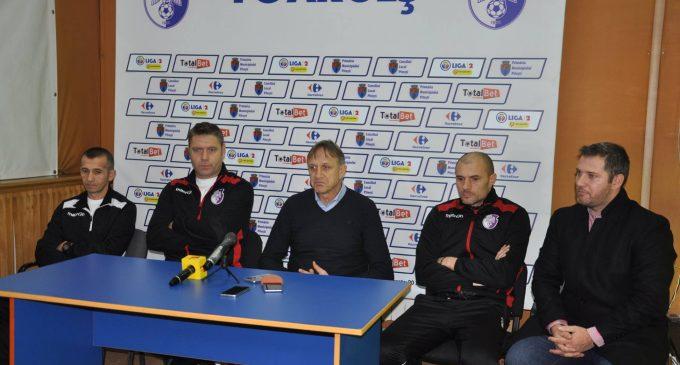 FC Argeș și-a reluat astăzi pregătirile