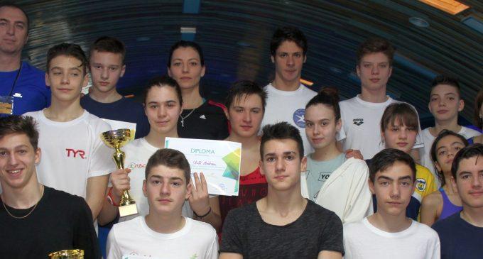 Vitality Sport & Welness a găzduit o competiție de înot
