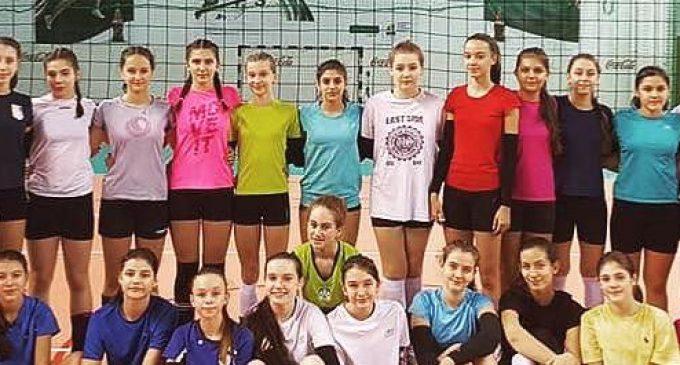 LPS Viitorul Pitești propune mai multe jucătoare la lotul național de volei speranțe