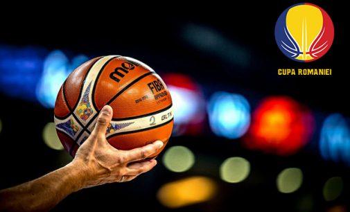 Sâmbătă începe turneul final al Cupei României la baschet masculin