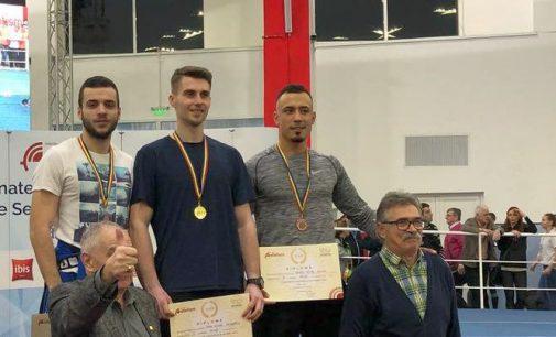 Neagoe și Tache au cucerit  primele medalii pentru CSU Pitești la naționalul indoor