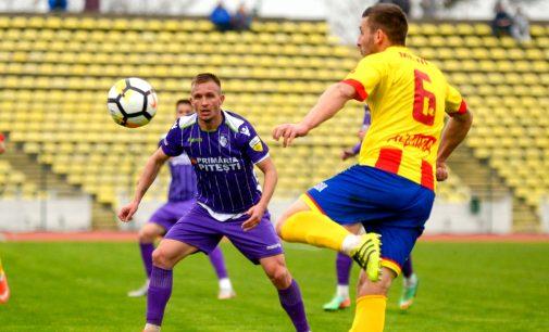 FC Argeș – Ripensia Timișoara  2-1