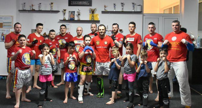 Sportivii de la Aleph Kickboxing Club sunt pregătiți pentru primul concurs din 2018