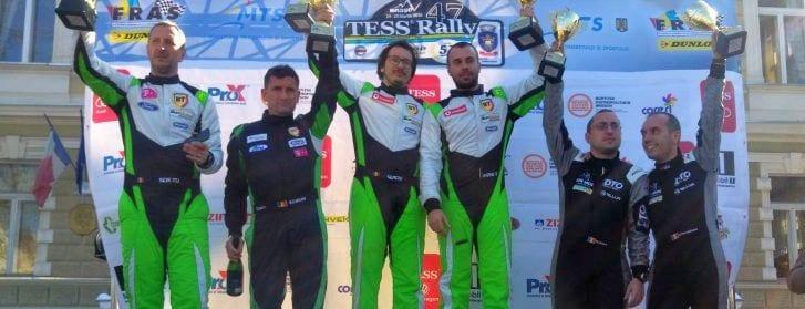 Porcișteanu și Dobre, locul 3 la Tess Rally de la Brașov