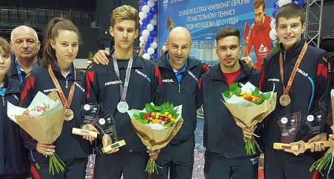 Medalie de bronz pentru Rareş Şipoş la europeanul din Belarus