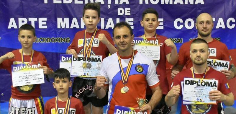 Sportivii de la Aleph Kick Boxing Club au avut evoluții apreciate la Bacău