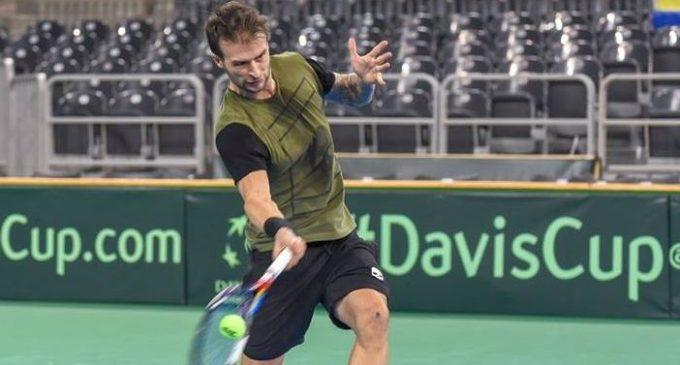 Adrian Ungur înfruntă Maroc cu echipa României de Cupa Davis