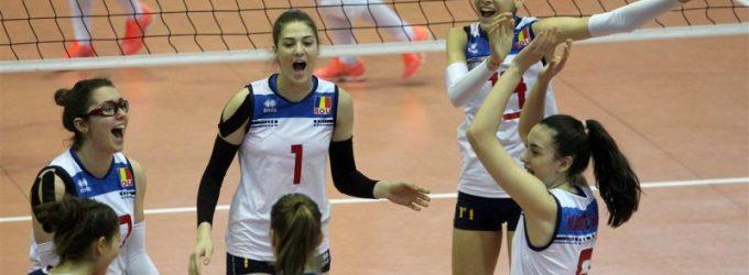 România s-a clasat pe locul 5 la europeanul de volei feminin Under 17