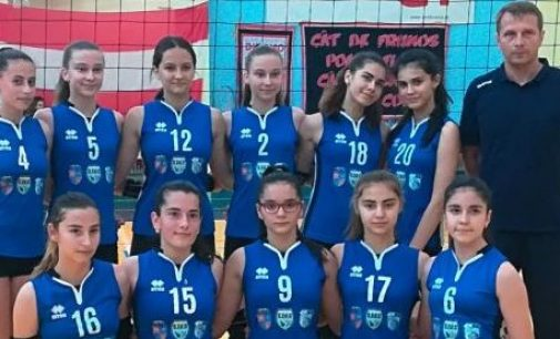 Dacia Mioveni, locul 3 în campionatul național de volei speranțe