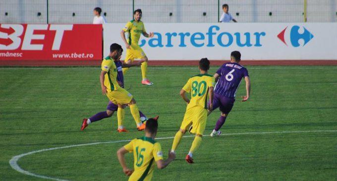 FC Argeș și CS Mioveni, eșecuri în runda cu numărul 34