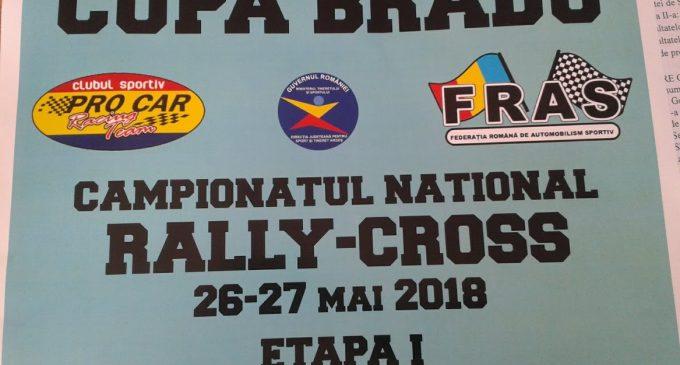 Competiție de rally-cross la Bradu