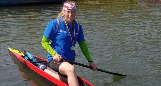 Ștefania Luca, 3 medalii la naționalul de kaiac-canoe pentru juniori 1