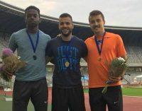 Ionuț Neagoe, clasare pe prima poziție la 200 m, în cadrul Internaționalelor de atletism