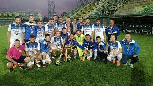 Unirea Bascov s-a impus și în Cupa României, 4-0 cu Gloria Berevoești