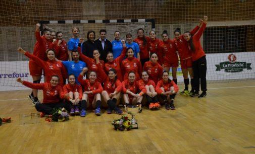 Bianca Voica va evolua pentru România la europeanul de handbal Under 16