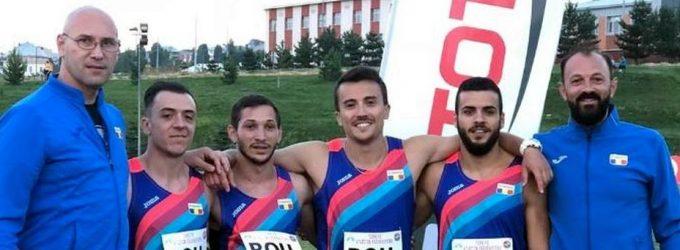Ionuț Andrei Neagoe și Dobrică Mariusan,medalii pentru România la CB de ștafete