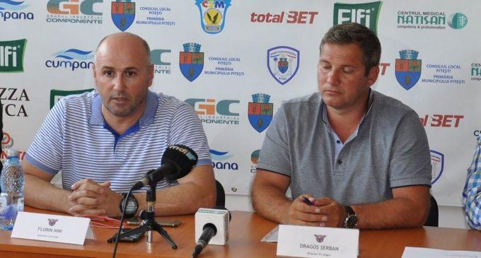 Audio/Florin Nini a preluat banca tehnică a grupării BCM U FC Argeș Pitești